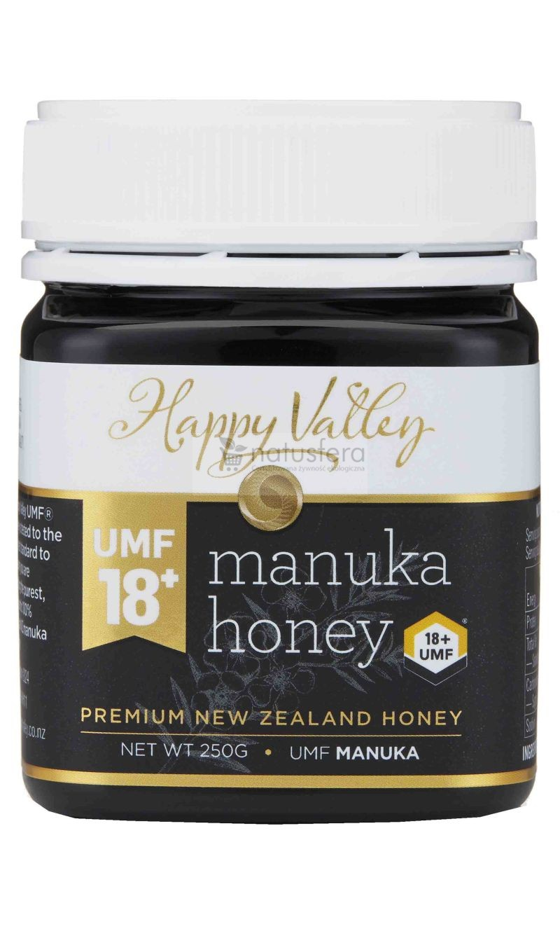 Miód Manuka Happy Valley UMF® 18+ (MG 696) - sklep internetowy - 250g
