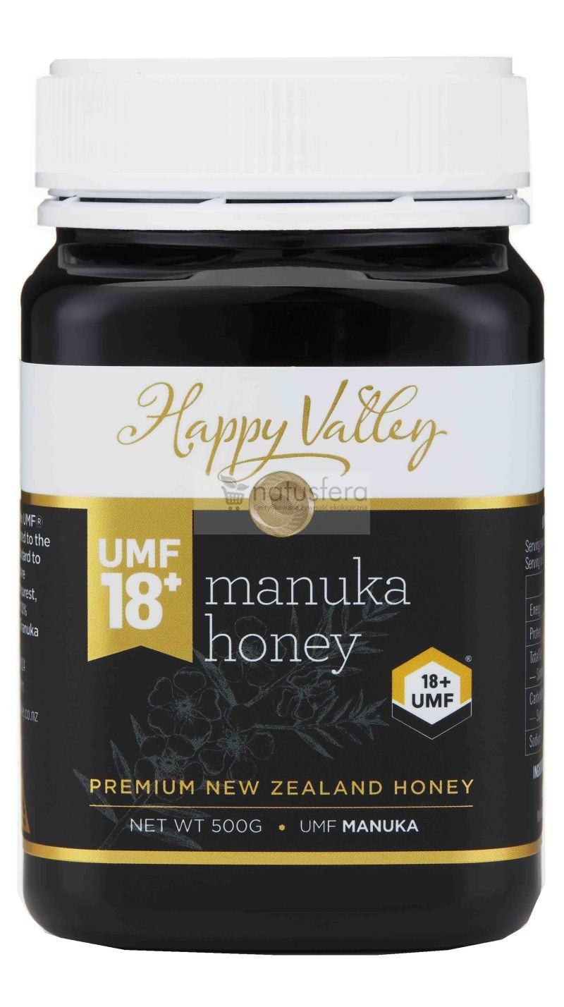 Miód Manuka Happy Valley UMF® 18+ (MG 696) - sklep internetowy - 500g