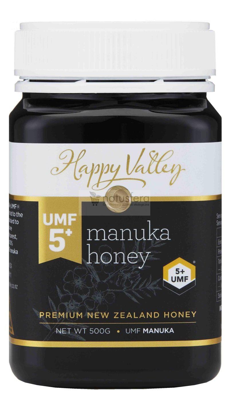Miód Manuka Happy Valley UMF® 5+ (MG 83) - sklep internetowy - 500g