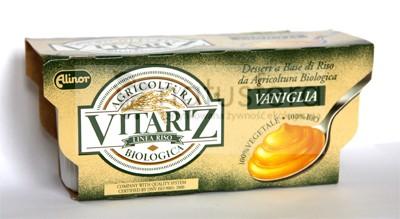 Deser ryżowy waniliowy BIO Vitariz - 2x100g