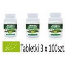 Młody jęczmień BIO sklep internetowy - ekologiczne tabletki 3 x 100szt