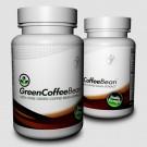 Ekstrakt z zielonej kawy - sklep internetowy - zielona kawa - kapsułki 1000mg - 2 x 90 sztuk